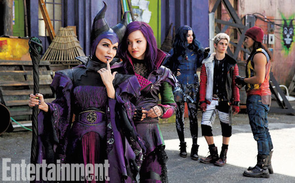 see kristin chenoweth as maleficent in new descendants photo. Black Bedroom Furniture Sets. Home Design Ideas