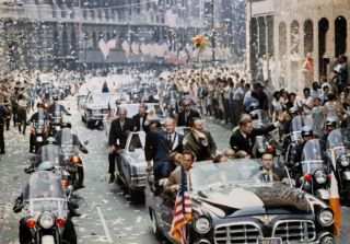 The New York City ticker-tape parade that celebrated the lunar landing after the astronauts returned in 1969.