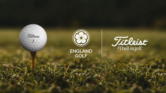 England Golf Unveils Titleist As Official Partner