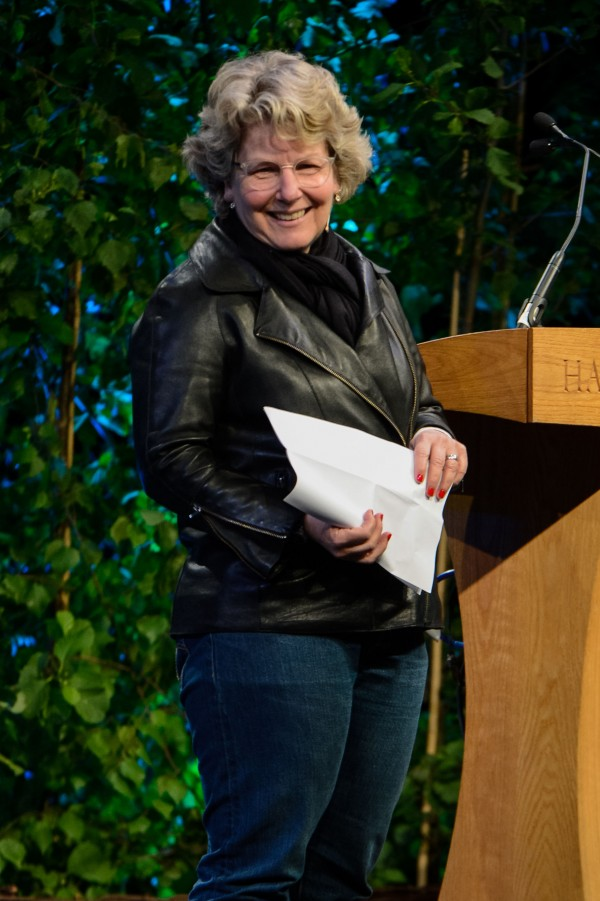 Sandi Toksvig at the Hay Festival
