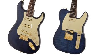 Fender Made in Japan Limited Collection Indigo Dye Stratocaster and Telecaster