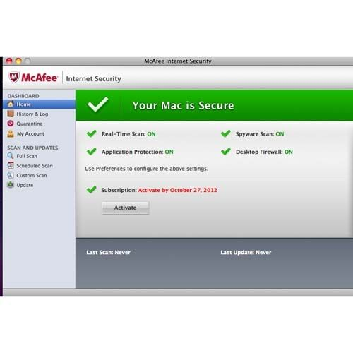 McAfee Internet Security for Mac Review - Pros and Cons