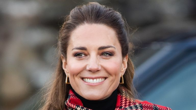 Catherine, Duchess of Cambridge during a visit to Cardiff Castle with Prince William, Duke of Cambridge on December 08, 2020 in Cardiff, Wales