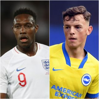 Danny Welbeck and Ben White