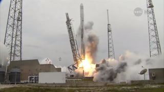 SpaceX's Third Dragon Capsule Launch