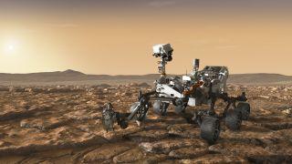 future mars rover