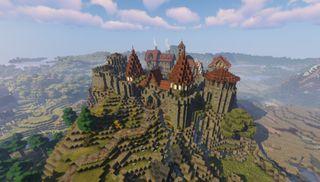 Minecraft castle ideas