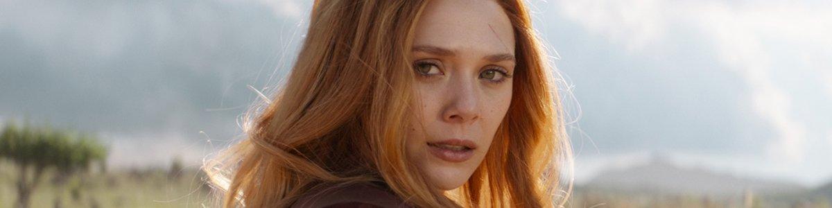 Scarlet Witch (Elizabeth Olsen) in Avengers Infinity War