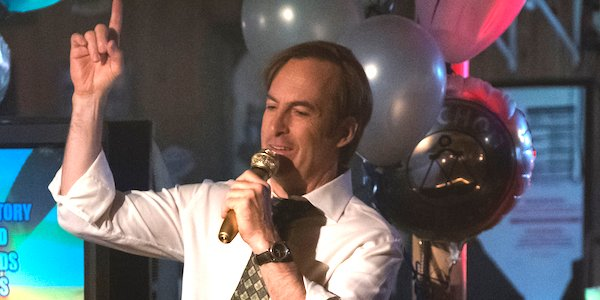 jimmy singing at party with chuck better call saul
