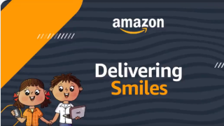 Amazon India has launched a new campaign called Delivering Smiles