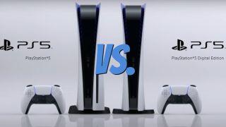 PS5 Digital Edition vs. regular