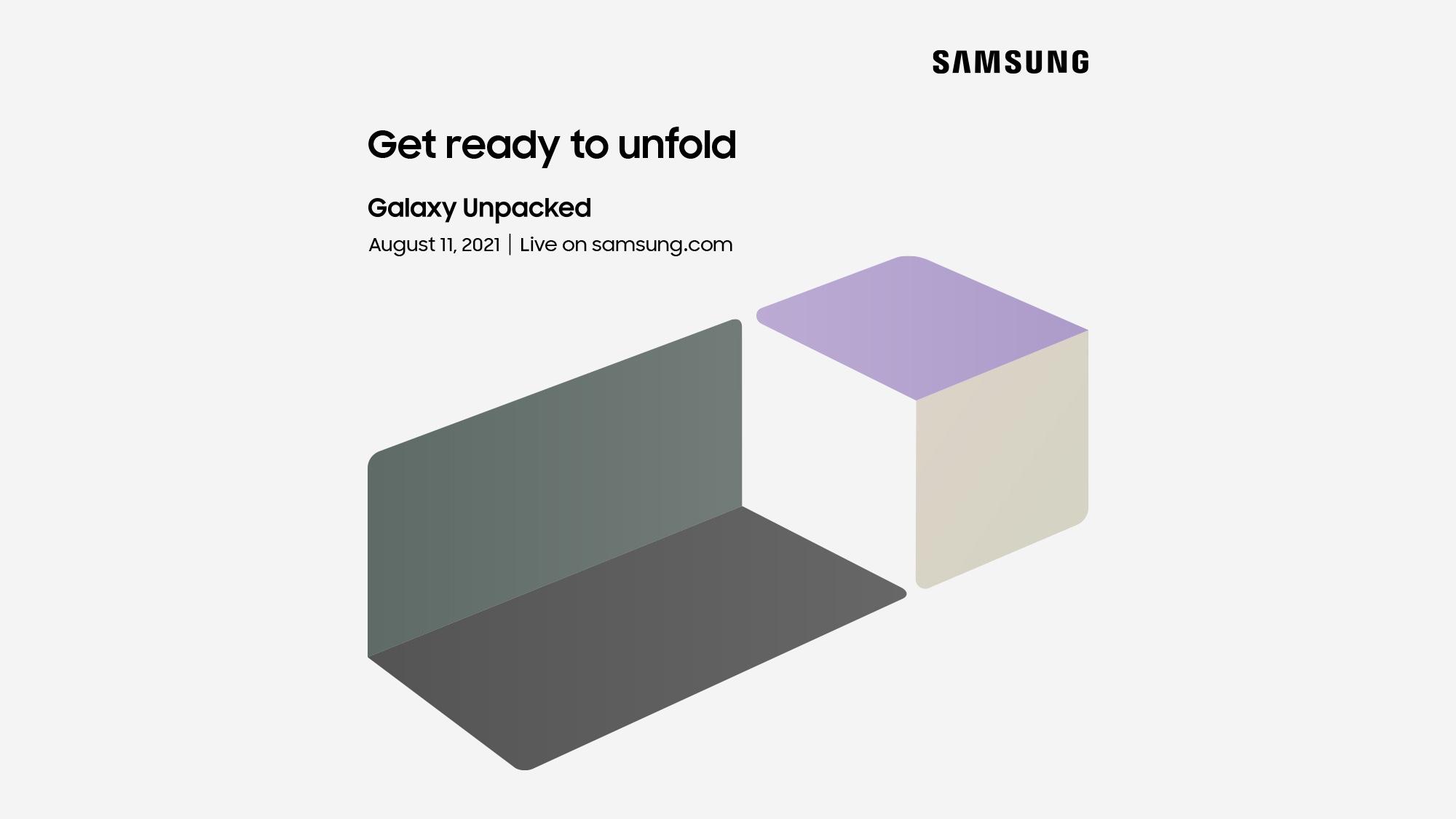 Samsung Unpacked August 11 event
