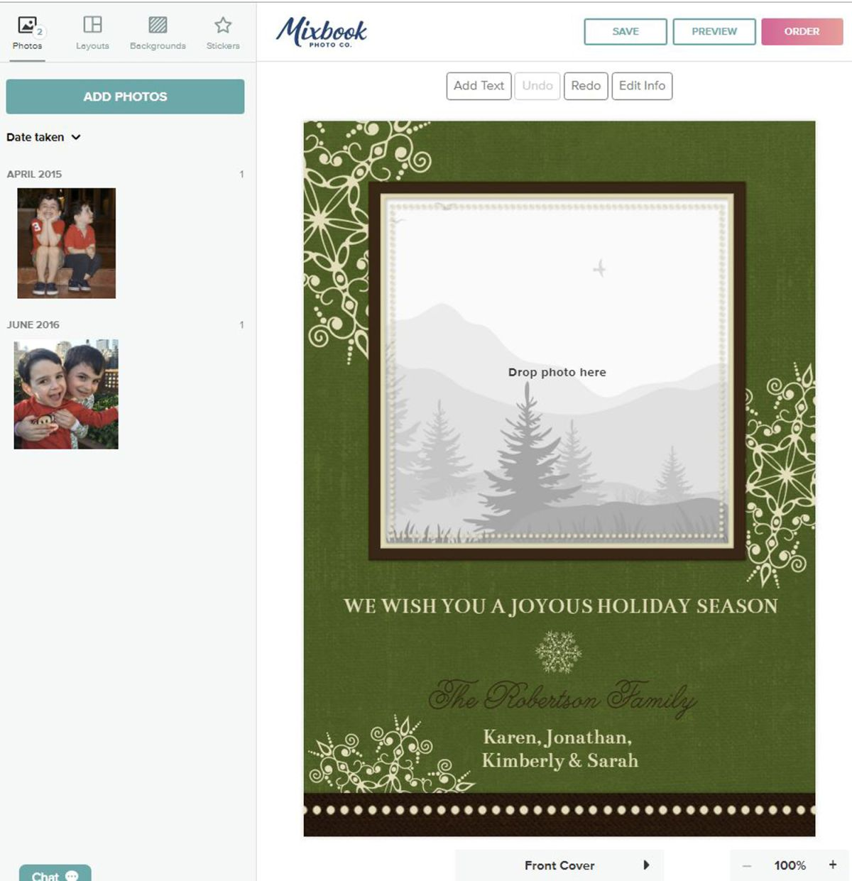 How to Make a Beautiful Photo Card with Mixbook | Tom's Guide