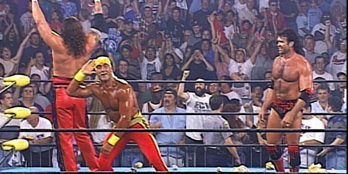 The formation of the NWO at Bash at the Beach '96