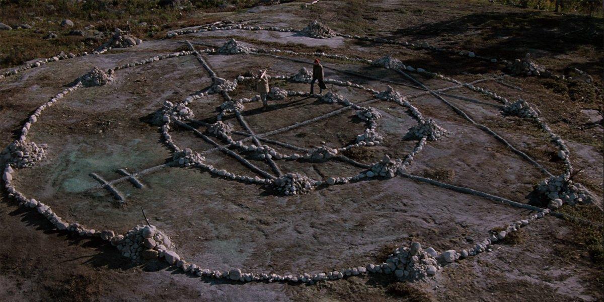 Pet Sematary 1989 Miꞌkmaq burial ground