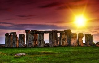 How did these enormous stones make their way to Stonehenge in England thousands of years ago?