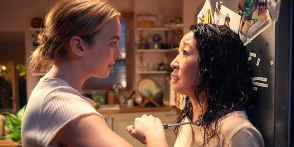 Killing Eve Jodie Comer Sandra Oh AMC BBC America