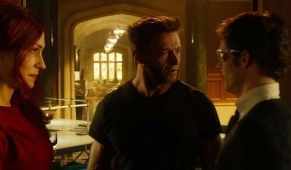 Wolverine, cyclops and Jean Grey in X-Men: days of Future Past