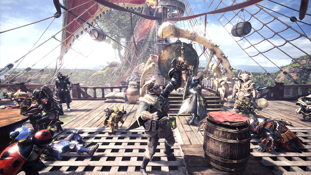 How to play online with your friends in Monster Hunter World