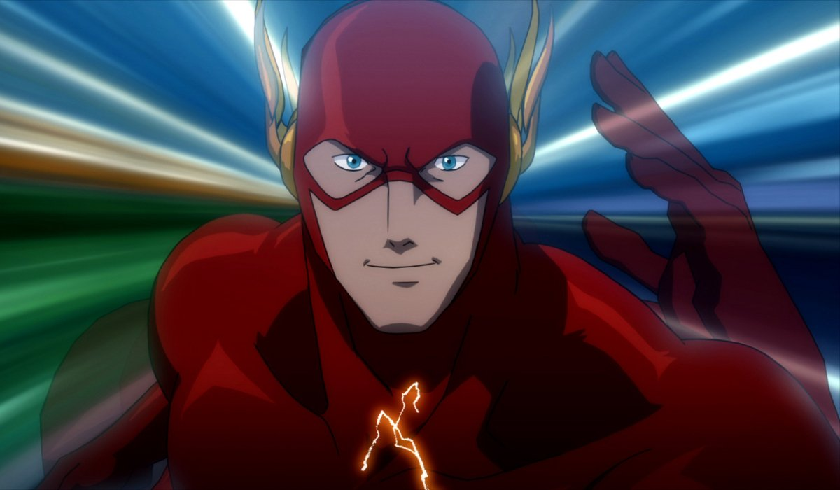 Justice League: The Flashpoint Paradox The Flash zooms through time