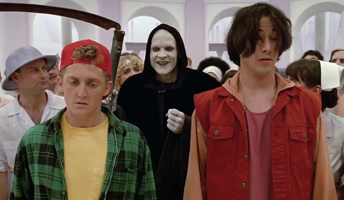 Bill & Ted's Bogus Journey Bill, Death, and Ted make their way through the afterlife