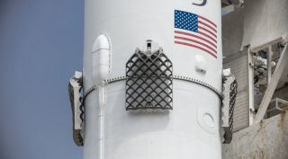 SpaceX Falcon 9 aluminum fins