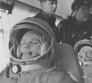 Yuri Gagarin was the first human in space, proving that humans could survive in outer space and function in a zero-G environment