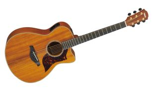The Yamaha AC4K concert model - featuring a Hawaiian Koa top, back and sides