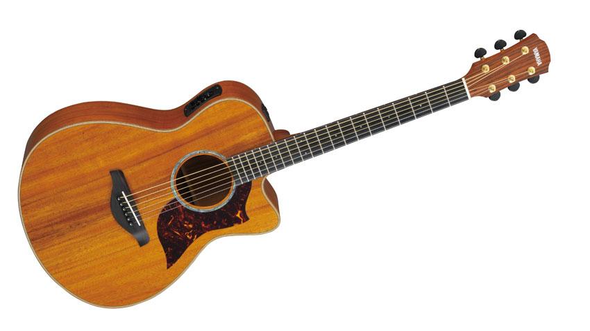 NAMM 2013 Yamaha Unveils Solid Koa A Series Guitars