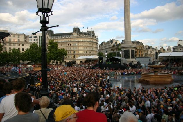 Tour de France 2007 presentation Trafalgar Square