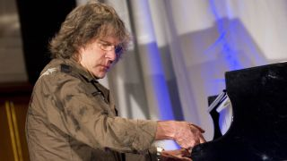 Keith Emerson in Frankfurt in 2010.