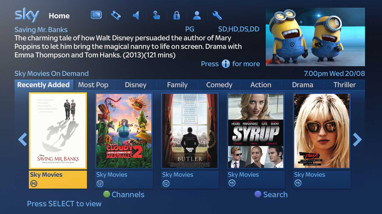 Sky's latest update means you'll never miss another show again