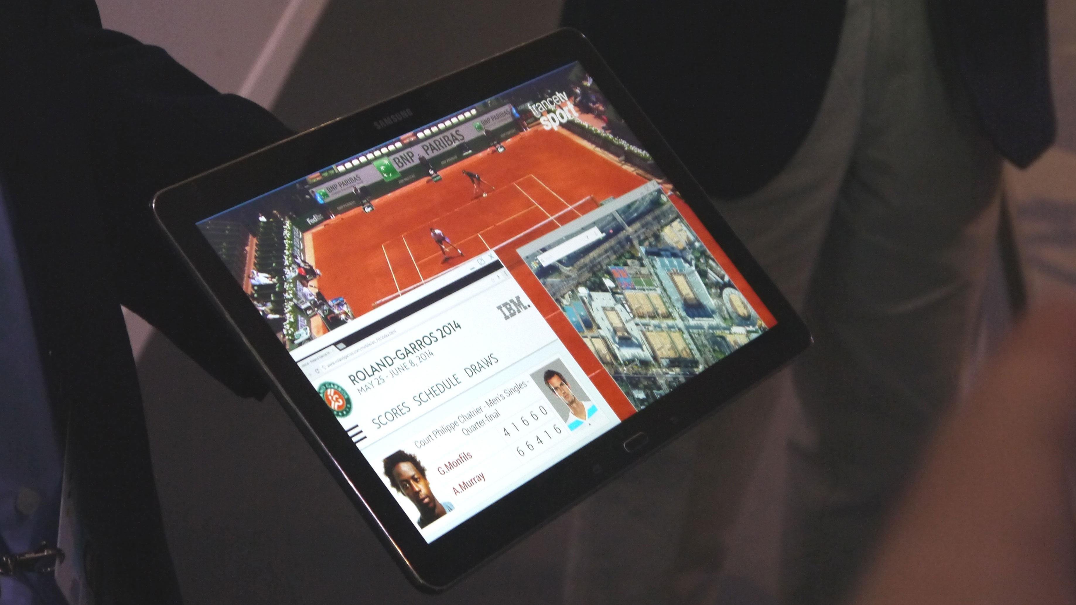 Spotted: Samsung's 12-inch 4K tablet prototype | TechRadar