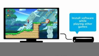 Wii U background downloads spring system update
