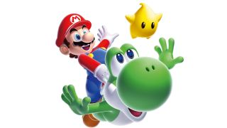 Super Mario Galaxy, now available on the Wii U
