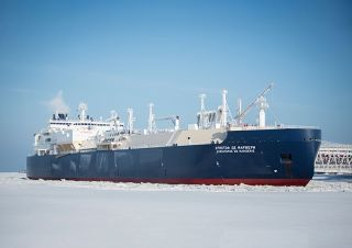 On Aug. 17, the Russian tanker the Christophe de Margerie completed its journey along an Arctic shipping route without needing to be escorted by a separate icebreaker ship