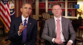 President Obama and Macklemore