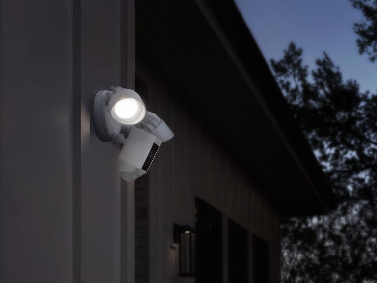 best outdoor security lights: ring floodlight cam