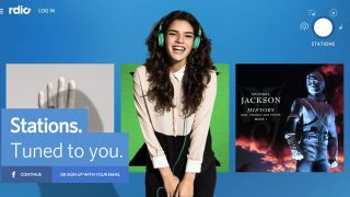 Rdio launches curated stations