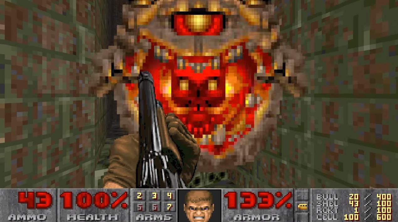 Watch Doom Eternal's trailer remade in Doom II | PC Gamer