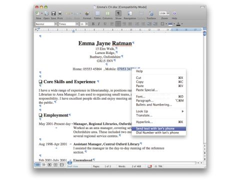 Phone Plugins for Mac OS X