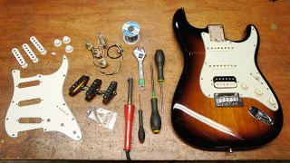 how to replace stratocaster pickups musicradar. Black Bedroom Furniture Sets. Home Design Ideas