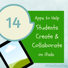 Class Tech Tips: 14 Apps to Help Students Create & Collaborate on iPads