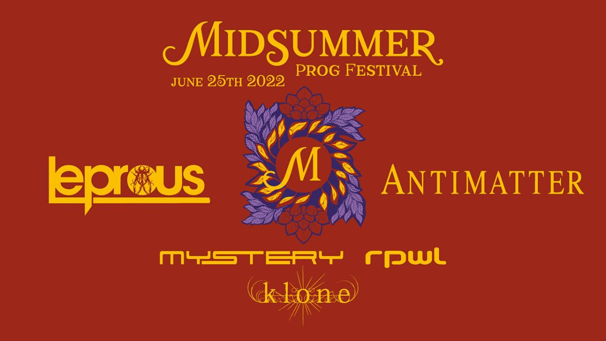 Midsummer Prog Festival reschedules to 2022
