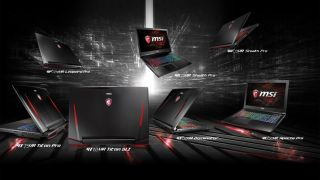 MSI VR laptops