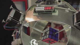 Rubik's Robot