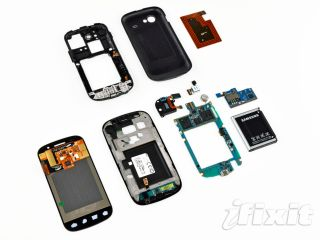 Google Nexus S - all torn up