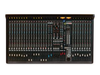 The Allen & Heath GS-R24 resembles a traditional analogue mixer.