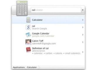 Google's Quick Search Box