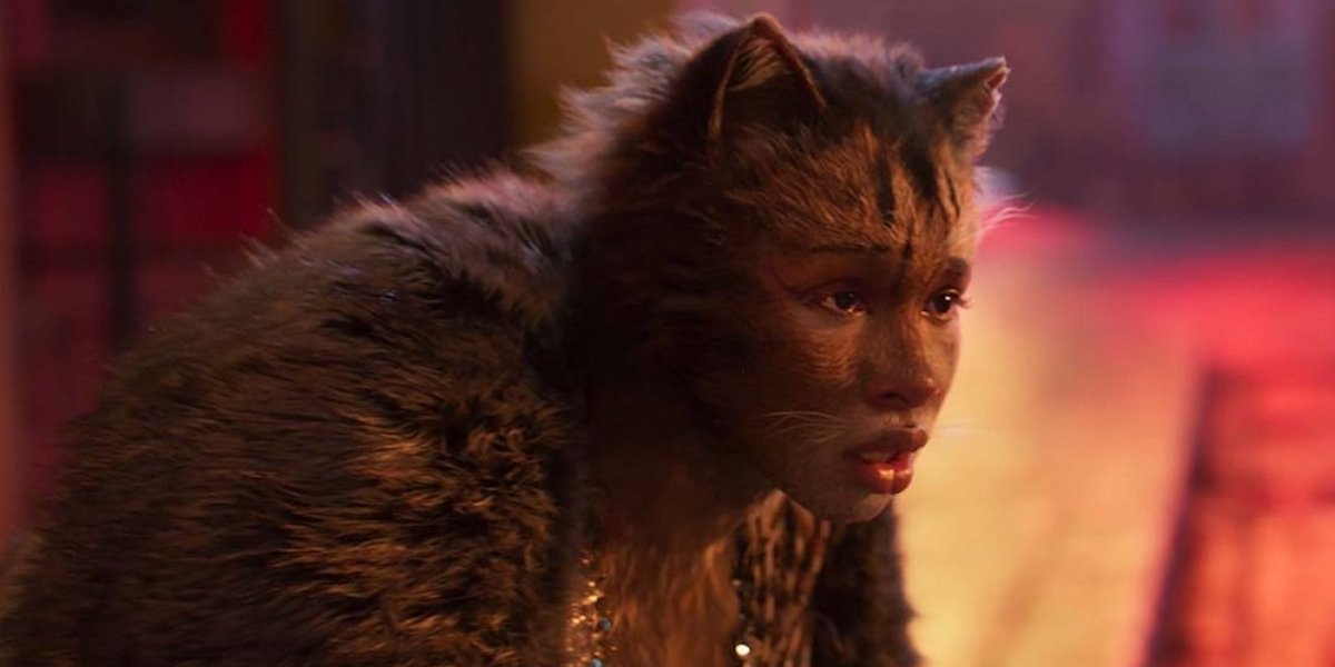 Jennifer Hudson as Grizabella in Cats